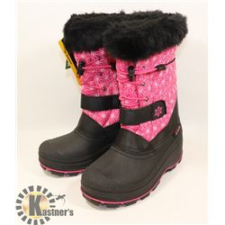 WEATHER SPIRITS LADIES SIZE 5 WINTER BOOTS,