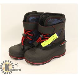 WEATHER SPIRITS BOYS SIZE 7 WINTER BOOTS,