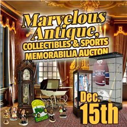 SIGN UP EARLY FOR THE UPCOMING ANTIQUE AUCTION!