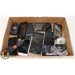 CELL PHONES FOR PARTS FLAT