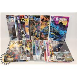 BOX OF BATMAN COMICS