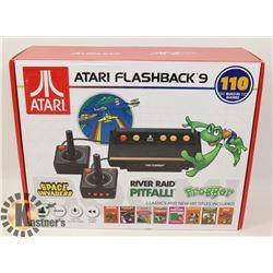 ATARI FLASHBACK 9 VIDEO GAMING SYSTEM 110 GAMES