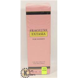 NEW FRAGLUXE EXTASIA FOR WOMAN 100ML PERFUME