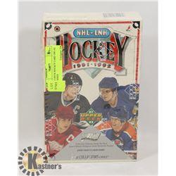 UPPER DECK HOCKEY CARD 1991-92 UNOPENED