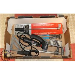 ESTATE TOOL LOT INCLUDES NEW TORQUE WRENCH