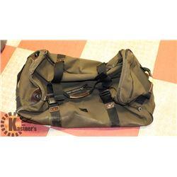 ARMY STYLE EDDIE BAUER BAG EXPEDITION DROP BOTTOM