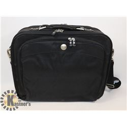 BLACK DELL COMBO LAPTOP/BRIEFCASE CARRY