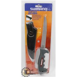 NEW! SHIMANO FILLET KNIFE WITH SHEATH