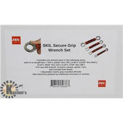 NEW! SKIL SECURE GRIP WRENCH SET