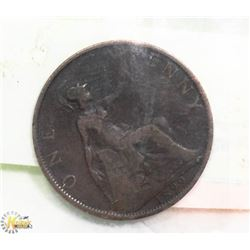 1899 ENGLISH LARGE PENNY