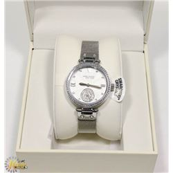 NEW ANNE KLEIN NEW YORK SWAROVSKI CRYSTALS WATCH