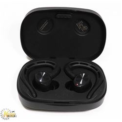 TRUE WIRELESS BLUETOOTH EARBUDS W/ CHARGING CASE