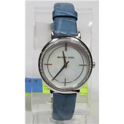 NEW MICHAEL KORS CINTHIA MOTHER OF PEARL DIAL