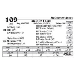 Lot  109 - McD Dr J 8508