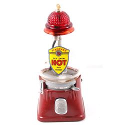 Coin Operated Light Up Hot Peanut Dispenser C 1940