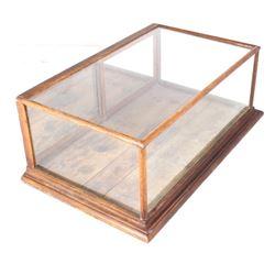 Antique General Store Glass & Oak Case
