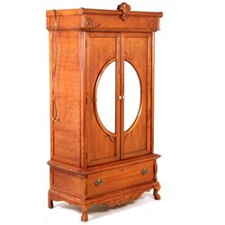 20th C Lexington Armoire Entertainment Center