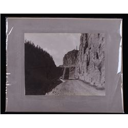 Frank Haynes Yellowstone Golden Gate Albumen Photo