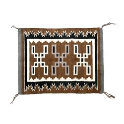 Navajo Rug by Alta Dodge from Crownpoint c. 1950's