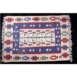 1900's Eastern Anatolian Cacus Tribal Kilim