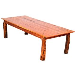 Montana Alligator Juniper Western Cabin Table