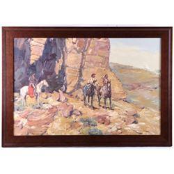 Sheryl Bodily (Montana 1936) Original Oil Painting