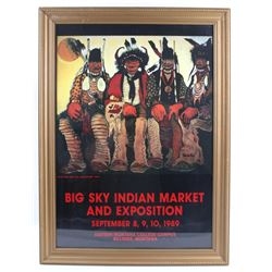 Kevin Red Star Big Sky Indian Market & Exposition