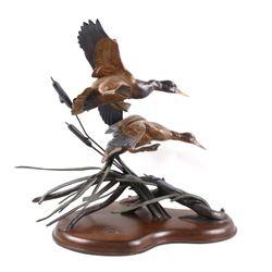 Ducks Unlimited Gale Winds & Mallards Bronze
