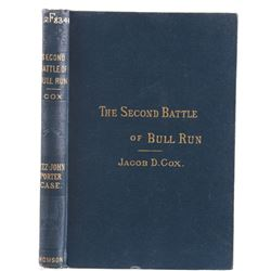 The Second Battle Of Bull Run By Cox Rare 1st Ed.