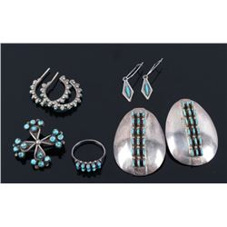 Navajo Sterling & Turquoise Jewelry Collection
