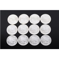 Liberty Buffalo .999 Fine Silver Round Collection