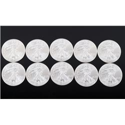 Liberty American Eagle 1 OZ Silver Coin Collection