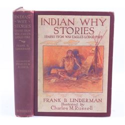 Indian Why Stories by Frank B. Linderman c. 1915