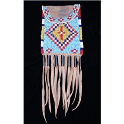 Kiowa Style Beaded Strike-A-Lite Flat Bag