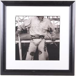 1997 Wouter Deruytter Cowboy Code Gelatin Silver