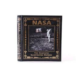 Buzz Aldrin Signed Nasa Complete Illus. History