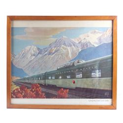 Leslie Ragan Northern Pacific Railroad Print