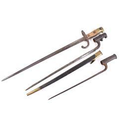 WWI French Triangular Rifle Bayonet Collection
