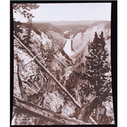 Huffman Yellowstone Canyon Lower Falls Photo 1882