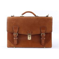 Schlesinger Full Grain Tanned Leather Satchel