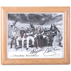 The Doobie Brothers Signed Framed Photograph