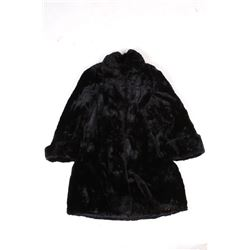 Lacombe Fine Furs Angora Rabbit Fur Coat