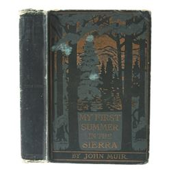 My First Summer in the Sierra by John Muir c. 1911