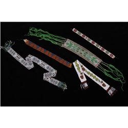 Collection of Plains Indian Beaded Belts & Sashes
