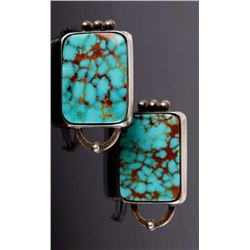 Navajo Native American Royston Turquoise Earrings
