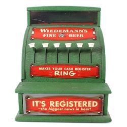 Toy Wiedmann's Beer Cash Register 1940's