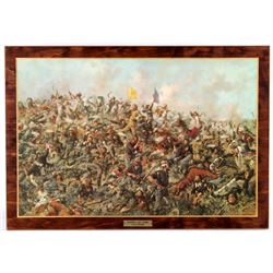 Custer's Last Stand Perma-Plaque Print