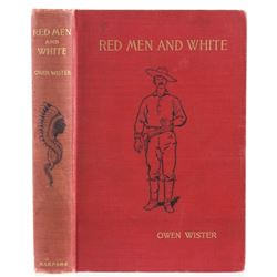 Red Men And White by Owen Wister c. 1900