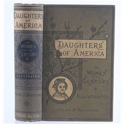 Daughters of America By Phebe A. Hanaford