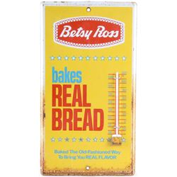 Betsy Ross Bakes Real Bread Ad Thermometer c1940s
